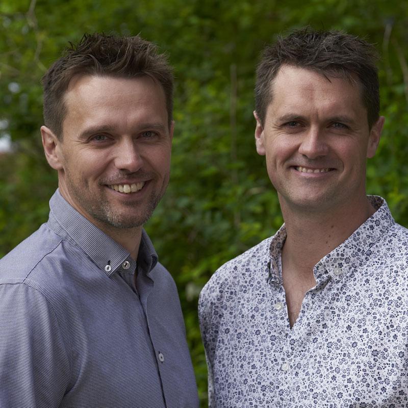 Nicolai og Jesper Markfoged